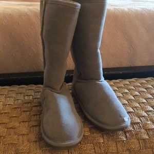 Bjorndal gray suede boots, excellent condition!